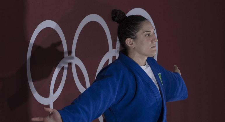 Mayra Aguiar, bronze nos 78 kg, é a atleta da categoria mais pesada antes de Maria Suelen