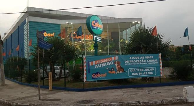 Doações serão entregues nos estacionamentos das lojas da Cobasi