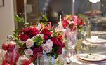 Nas imagens compartilhadas nas redes sociais dos dois, a área sempre aparece com muitas flores