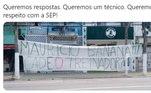 Outro problema que Galiotte tem sofrido é a pressão das torcidas organizadas, que estenderam faixas na frente do Centro de Treinamento do Palmeiras, cobrando um novo treinador.Veja quais profissionais já disseram 'não' ao clube paulista