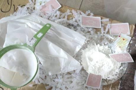 Polícia descobriu laboratório de drogas em BH