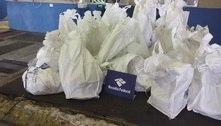 Receita apreende 670 quilos de cocaína em carga de goiabada