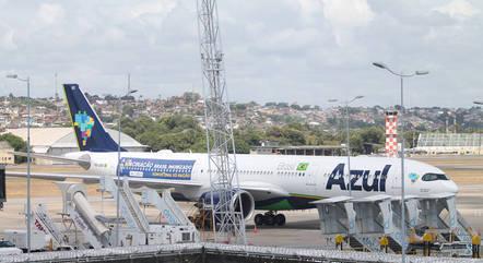 Avião que chegou a decolar de Campinas para ir à Índia