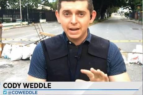 Cody Weddle foi detido nesta quarta-feira (6)