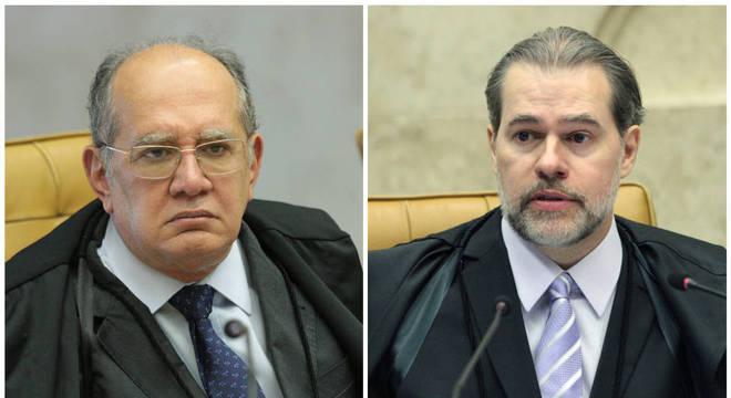 Gilmar e Toffoli já defenderam a prisão em 2ª instância e mudaram seus votos