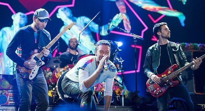 Coldplay fará mais shows antes de pausa em turnês, diz Chris Martin