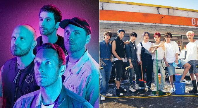Coldplay e BTS vão unir forças na parceria 'My Universe', que sai ainda neste mês