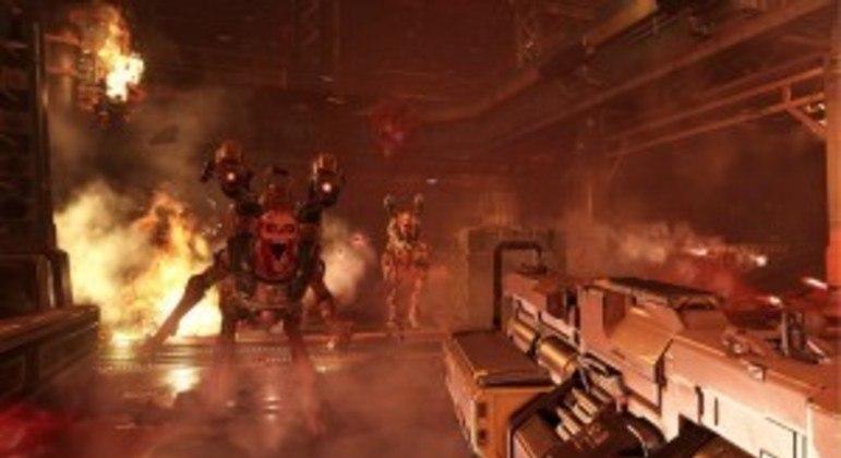Coleção da série Doom para Nintendo Switch aparece em loja americana