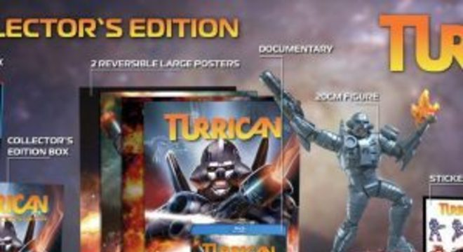 Coleção Turrican Anthology é anunciada para PS4 e Switch