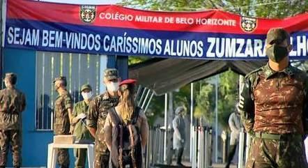 Colégio Militar iniciou ano letivo de 2021