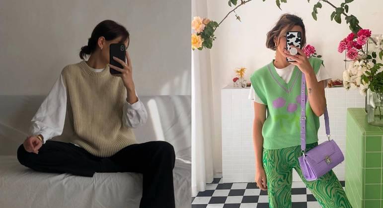 Colete de tricot é a peça ideal para você fugir da mesmice; veja como usar