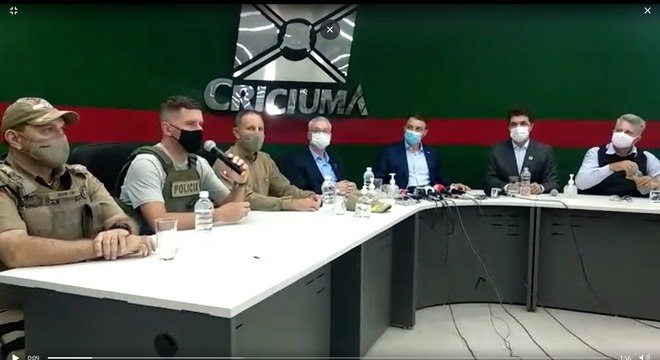 Polícia Civil diz que assalto em Criciúma foi o maior de Santa Catarina
