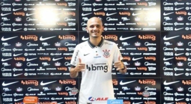 Coletiva Fábio Santos - Corinthians