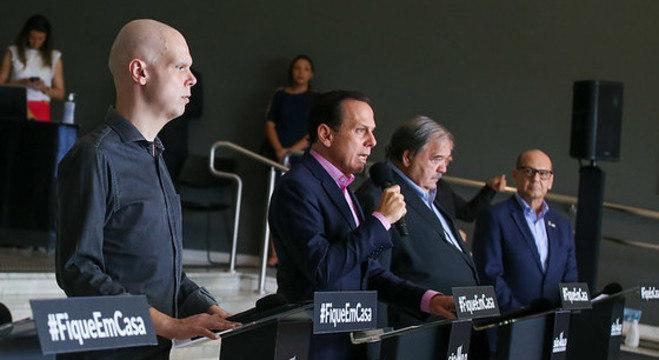 Bruno Covas, João Doria, José Henrique Germann e Dimas Covas