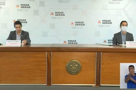 Representantes do Governo de MG falam sobre pandemia