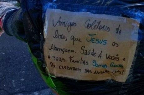 Moradores demonstram solidariedade e gratidão