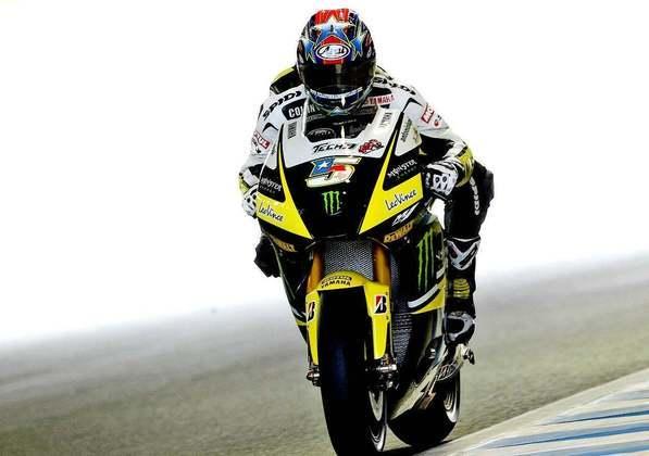 Colin Edwards era da Tech3 - equipe da Yamaha