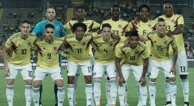 Colômbia chega à Copa pela segunda edição consecutiva