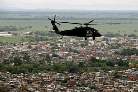 Operação policial na região de Urabá, há 2 anos