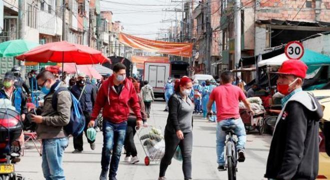 Colômbia mantém quarentena frente a alta de novos casos