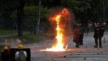 Colômbia: manifestante morre e policiais ficam feridos em confronto