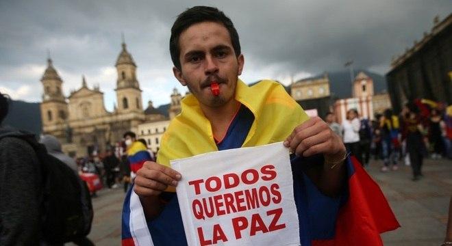 Não cumprimento de acordo de paz foi um dos estopins para protestos