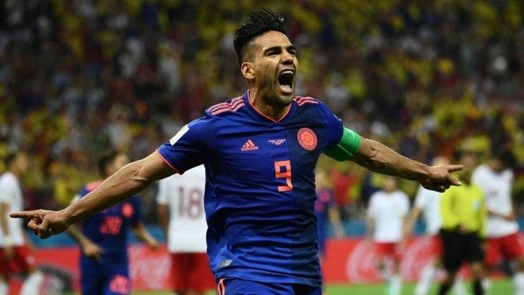 Colômbia - Radamel Falcao: 34 gols em 89 jogos