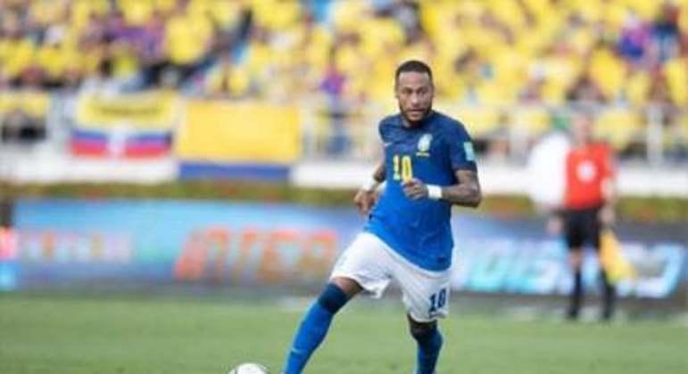 Colombia x Brasil - Neymar