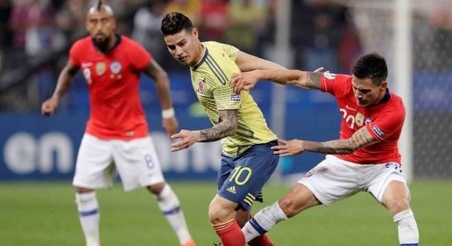 Colômbia e Chile fizeram um dos grandes jogos da Copa América 2019