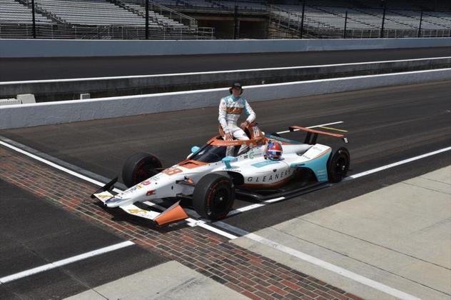 Colton Herta, #88, da Andretti, é o décimo