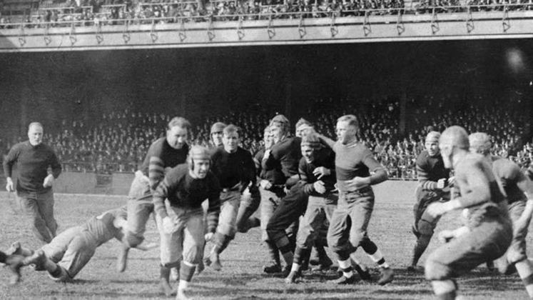 Columbus Tigers (1925). Nove partidas jogadas na temporada, nove derrotas. Um time que não deixou muita saudade.