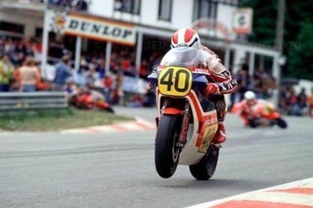 Com 20 anos em 1982, Freddie Spencer se tornou o mais jovem piloto a vencer na classe rainha