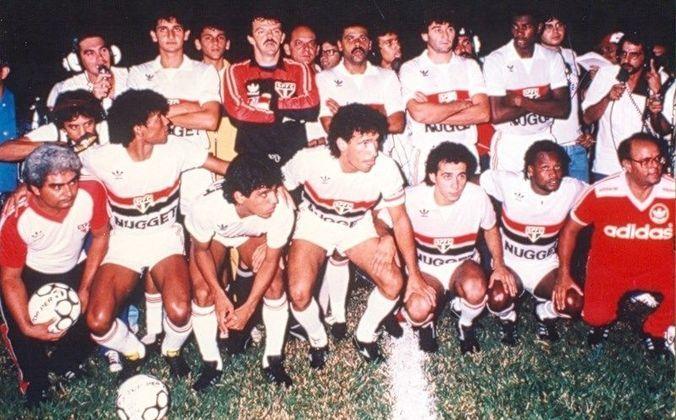 Com 83,3%, os dois ficam atrás somente de Rubens Salles, em 1931, Jim Lopes, em 1953, e Pepe, em 1986, com 93,33% de aproveitamentos nos primeiros jogos e, ainda, de Joreca, na temporada de 1943, com 86,67% de aproveitamento. Na foto, o São Paulo de 1986, treinado por Pepe, que se sagrou campeão brasileiro.