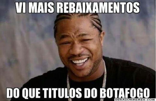 Com a 19ª colocação no Brasileirão 2014, o Botafogo amargou o segundo rebaixamento à Série B na sua história. Alegria para os rivais, tristeza para os torcedores do Glorioso.