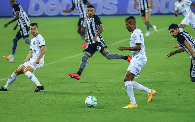 Com a 30ª rodada do Campeonato Brasileiro em andamento, o Atlético-MG é o novo líder do returno, enquanto o Botafogo assumiu a lanterna. O LANCE! montou uma galeria com a classificação atualizada do returno da edição de 2020 do Brasileirão. Os dados são do Departamento de Matemática da Universidade Federal de Minas Gerais. Confira: