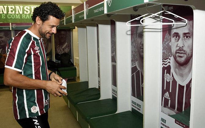 Com a camisa tricolor, Fred marcou 172 gols em 288 jogos.