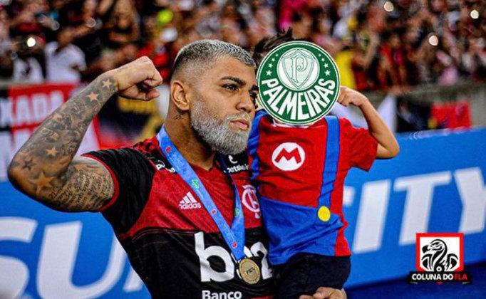 Com a derrota na estreia do Brasileirão 2021, já são 8 jogos consecutivos sem vitórias do Palmeiras sobre o Flamengo. Relembre como foram as zoeiras após as vitórias do rubro-negro! (Por Humor Esportivo)