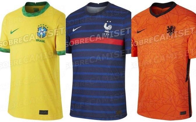 Com a pandemia causada pelo coronavírus, o futebol parou ao redor do mundo e travou os lançamentos dos uniformes de muitas seleções. A Nike lançaria as camisas de suas principais seleções em março. No entanto, os sites