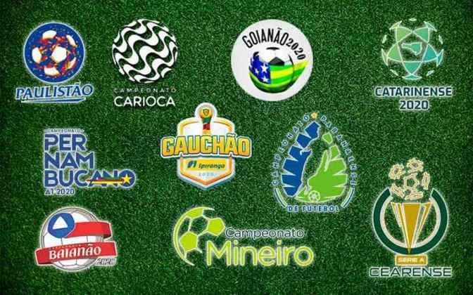 Aos poucos os campeonatos estaduais estão voltando. Carioca e Catarinense foram os primeiros na retomada do futebol. Confira quando  a situação dos outros torneios do Brasil