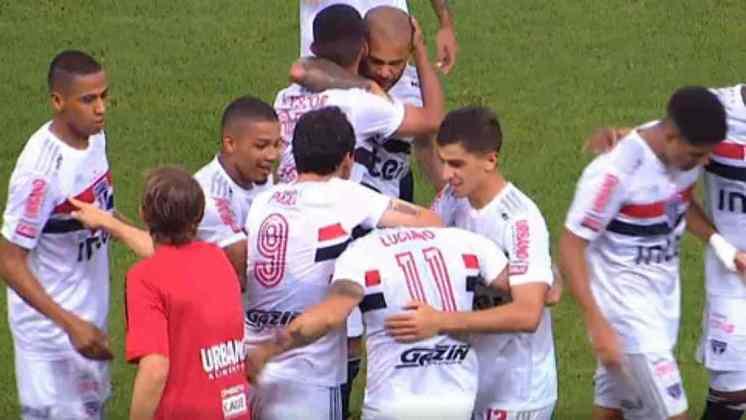 Com bela atuação de Luciano, vindo do banco de reservas, o São Paulo vence de virada o Fortaleza. Sara e Daniel Alves também foram os destaques da equipe.
