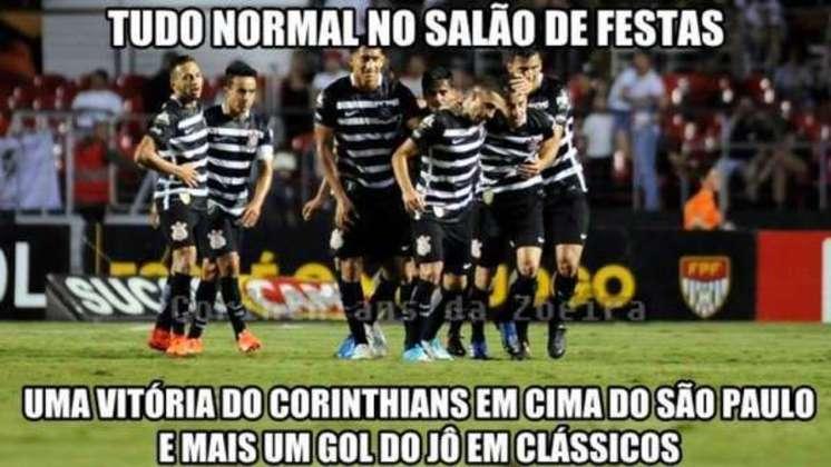 Com bom desempenho de Jô, o Corinthians eliminou o São Paulo nas semifinais do Paulistão em 2017