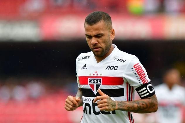 Com Daniel Alves sendo utilizado principalmente no meio de campo e, por vezes, na lateral, o Brasileirão de 2019 chegou ao fim e o São Paulo ficou na sexta posição, garantindo a classificação para a Libertadores.