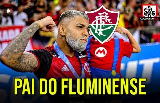 Com direito a dois gols de Gabigol, o Flamengo venceu o Fluminense por 3 a 1 e conquistou o tricampeonato consecutivo do Campeonato Carioca. Na web, os torcedores zoaram os rivais com uma enxurrada de memes. Confira! (Por Humor Esportivo)