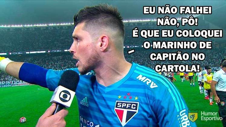 Com dois gols de Gabriel Sara e falha de Tiago Volpi, Santos e São Paulo empataram na Vila na noite deste sábado. Marinho, que entrou no segundo tempo, foi decisivo mais uma vez e foi um dos protagonistas dos memes. Veja na galeria!