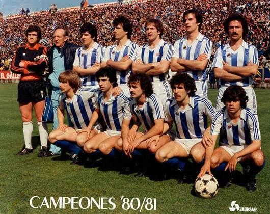 Com dois títulos conquistados, o Real Sociedad é o sexto colocado, com conquistas nos anos de 1980/81 e 1981/82.