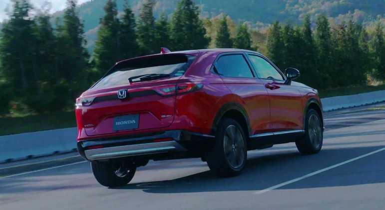 Honda não divulgou as medidas do modelo