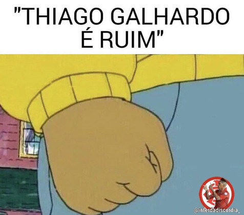 Com excelente início no Brasileirão, Thiago Galhardo ganha memes nas redes sociais