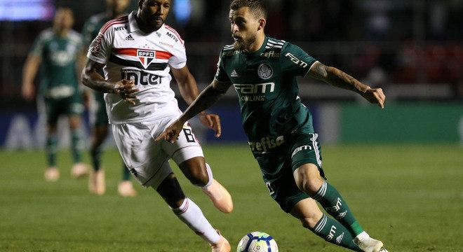 Com Felipão, Lucas Lima volta à boa fase que o trouxe ao Palmeiras
