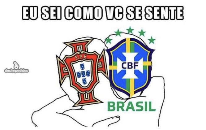 Com gol de Cristiano Ronaldo, portugueses até saíram na frente, mas acabaram derrotados por 4 a 2 pela Eurocopa. Na web, torcedores lembraram do 7 a 1 com o Brasil e brincaram com episódio envolvendo CR7 e a Coca-Cola nesta semana. Confira! (Por Humor Esportivo)