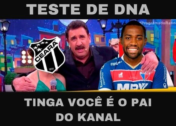 Com gol de Tinga, o Fortaleza voltou a vencer o Ceará na final e conquistou o bicampeonato estadual. Motivo para muita festa e provocação dos torcedores do Leão nas redes sociais. Confira! (Por Humor Esportivo)